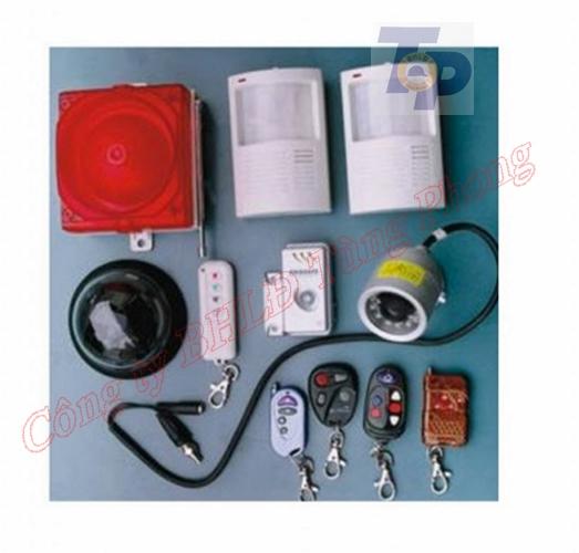 Hệ thống báo động và camera giám sát