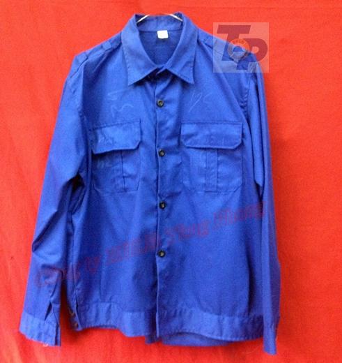 Áo BH kaki LD xanh dương K2