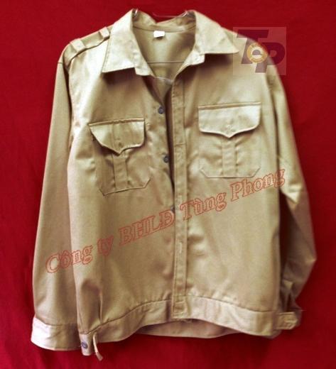 Áo vải cotton dày chống nóng