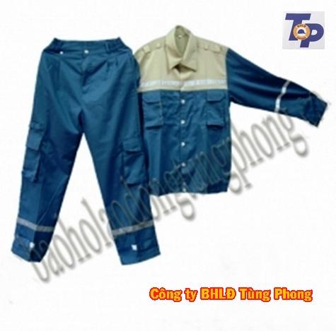 Quần áo cotton pha màu