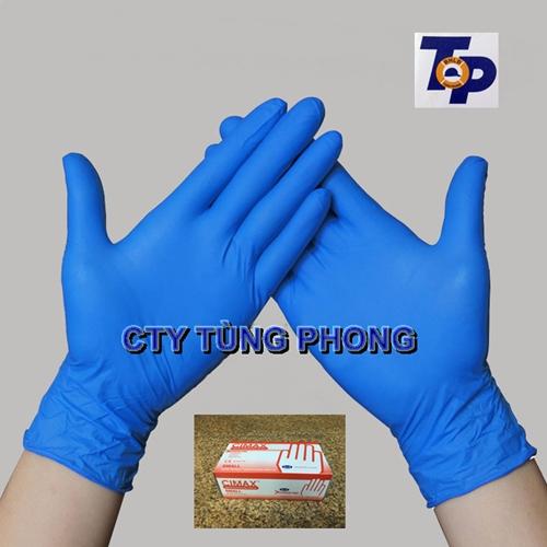 Găng tay y tê Cimax xanh không bột