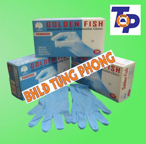 Găng tay cao su Nitrile Golden Fish